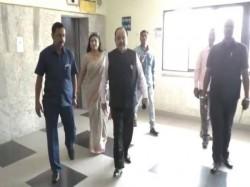 Sovan Chatterjee S Friend Baishakhi Bandyopadhyay Present Before Ed Narad Case