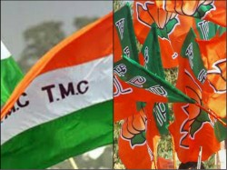 Bjp Trinamool Clash At Bangaon Area West Bengal