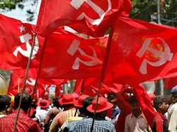 Tripura Cpim Protest Agartala Over Attack On Candidates During Nomination Filling
