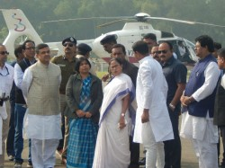 After Spending Four Days East Midnapur Cm Mamata Banerjee Came Back Kolkata
