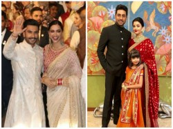 Isha Ambani S Wedding Ranveer Deepika Saif Kareena Srk Salman Add Glitter To The Wedding