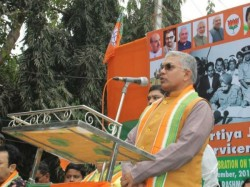 Bjp Leader Dilip Ghosh Targets State Administration Over The Permission Over Rathyatra