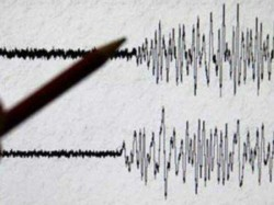 A Terrible Earthquake Occurred Philippines Island Warning Tsunami