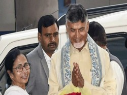 Day Before Poll Results Naidu Gathers Delhi With Top Opposition Parties To Discuss Anti Bjp Front