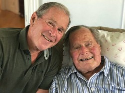 Former Us President George Bush Senior Dies At The Age