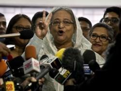 Bangladesh General Elections Landslide Victory Sheikh Hasina