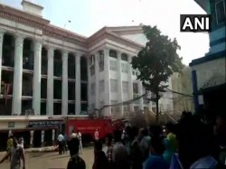 Fire Breaks In The Hematology Department Kolkata Medical College Hospital