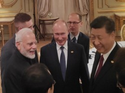 After 12 Years Russia India China Hold Trilateral Meeting The Sidelines G20 Summit