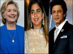 Shah Rukh Khan Aamir Khan Burn The Dance Floor With Hillary Clinton Watch