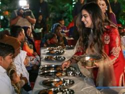 Ambanis Serve Food 5 100 Differently Abled Befor Isha S Wedding See Pics