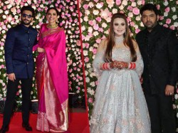 Kapil Sharma Ginni Mumbai Reception Deepika Ranveer Rekha Anil Kapoor Attended The Function