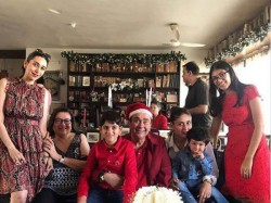 Inside Kapoor Family Christmas Party Kareena Kapoor Son Taimur Lead The Famjam