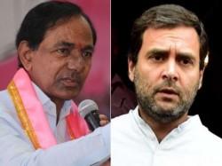 Rahul Gandhi Speaks Like Joker Kcr Rebut On Commission Jibe