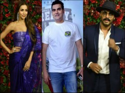 Deepika Ranveer Reception Did Arbaaz Khan Arjun Kapoor Snub Each Other Courtesy Malaika
