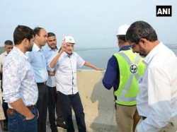 Ailing Manohar Parrikar Inspects Goa Bridge Photo Draws Reactions From Abdullah And Others