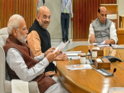After Losing Three States Amit Shah Meets Leaders Review Setback