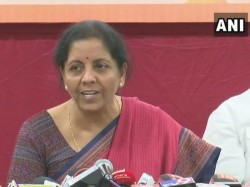 Nirmala Sitharaman Attacks Gandhi Family Not Listening Sc On Rafale Verdict