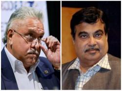 Unfair Call Vijay Mallya Thief One Loan Default Nitin Gadkakari