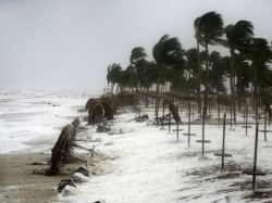 Cyclone Pethai Struck On Andhra Pradesh Coast 100 Kilometer Speed