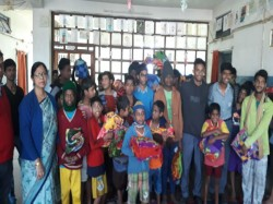 Portion Madhyamik Student Patha Bhavan School Help Disableds