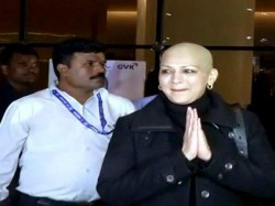 Sonali Bendre Comes Back Mumbai After Cancer Treatment
