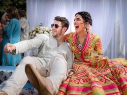 Priyanka Nick Wedding Pic Goes Viral Internet See The Album