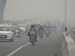 Air Pollution Caused Deaths 12 4 Lakh People 2017 India