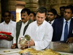 Congress President Rahul Gandhi Presents His New Look As Brahmin