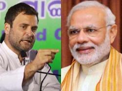 Modi Used Surgical Strikes Political Capital Alleges Rahul Gandhi
