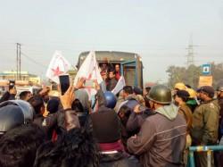 Sfi Dyfi S Nabanna Rally Programme Is Halted Police Durgapur