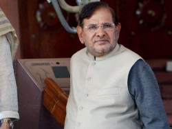 Sharad Yadav S Fat Jibe At Vasundhara Raje Stirs Row Rajasthan