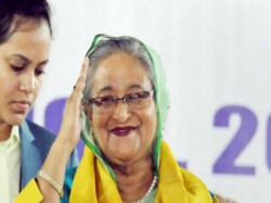 Pm Sheikh Hasina Cast Her Vote The Morning Bangladesh Election