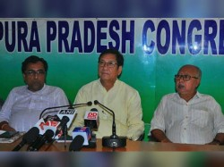 Tripura Bjp Obstructing Opposition O Local Polls Alleges Congress And Cpim
