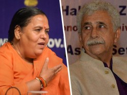Uma Bharati Attacks Naseeruddin Shah On Bulandshahr Remark Calls It Conspiracy