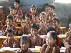 Teacher Tapes Mouths 2 Primary Students Gurugram