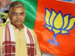 Bjp Rath Yatra Bengal Bengal Chief Dilip Ghosh Meets Officials At Lal Bazar
