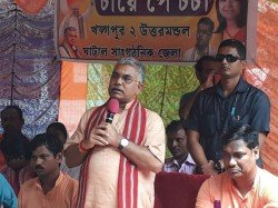 Bjp State President Dilip Ghosh Criticizes Tmc As Dog On Rath Yatra Issue