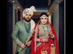 Kapil Sharma Ginni Chatrath S First Wedding Picture Revealed