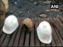 Helmets Found Authorities Still Clueless About Trapped Miners Meghalaya Coal Mine