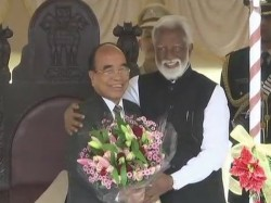 Zoramthanga Takes Oath As New Chief Minister Mizoram