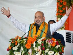 Amit Shah Re Versions Orop Target Gandhi Family Says It Means Only Rahul Only Priyanka