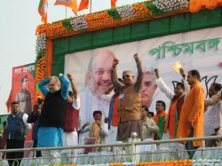Amit Shah Criticizes United India Alliance Mamata Banerjee Brigade