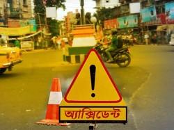 Bidhannagar Dcdd Avaru Rabindranath Was Injured A Brigade Oriented Car