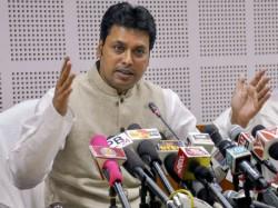Tripura Cm Biplab Deb Targets West Bengal Cm Mamata Banerjee Rom His Arambag Meeting