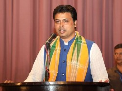 Tripura Cm Biplab Deb Targets West Bengal Govt From His Arambag Meeting