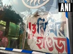 Strike Supporters Allegedly Throw Stones Howrah Birbhum Coochbihar