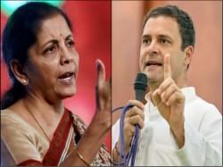 Rahul Gandhi Attacks Nirmala Sitharaman Over Hal Rafale Deal