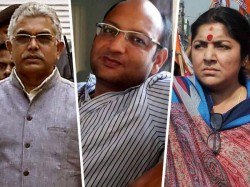Bjp Leader Dilip Ghosh Locket Chatterjee Accuses Producer Srikant Mohta As Film Mafia