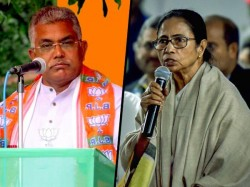 Bjp Leader Dilip Ghosh Attacks Mamata Banerjee On Brigade Issue