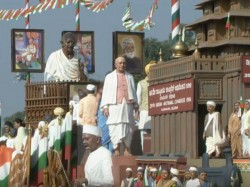 Tableau Karnataka Is Based On Congress Session On 1924 Lead By Gandhiji